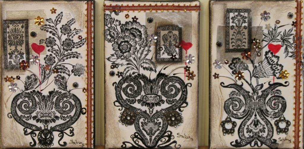 vases baroques